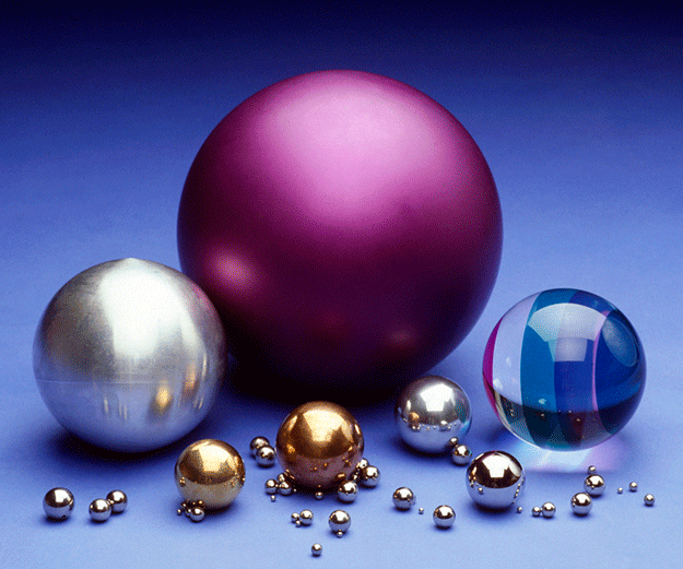 Assortment of Large and Small Balls