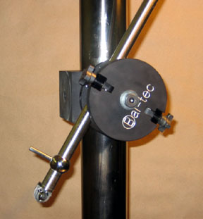 Centerline Ball Bar Ranger, shown with collar and stand