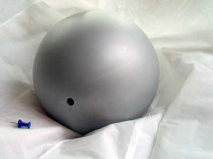Grey Painted Ball for Light Meter Test