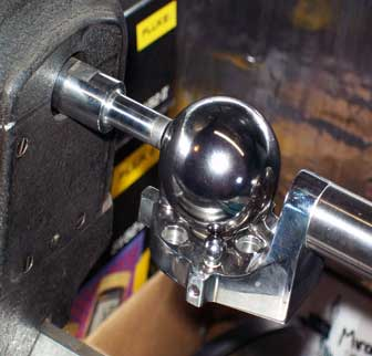 Three Ball Mount, with Ball
