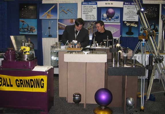 Bal-tec Booth at Wettec 2010 in Los Angeles