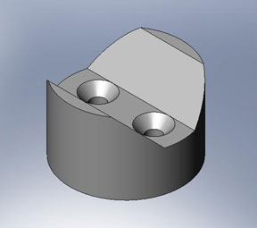 SolidWorks Vee Block
